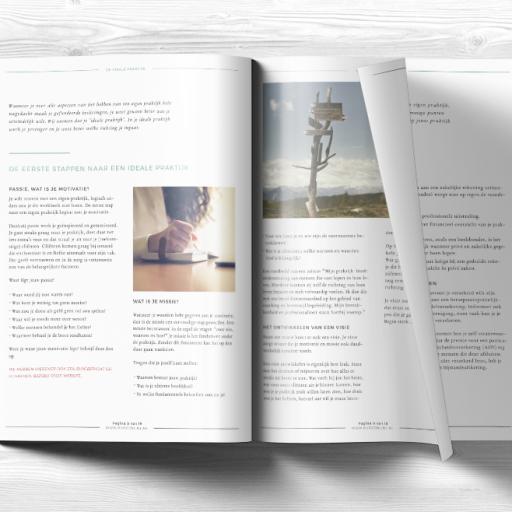 Werkboek 'Het starten van een eigen praktijk'